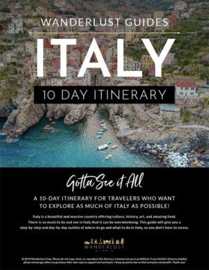 This Complete Italy Itinerary will take you all through 10 days in Italy and includes 40 pages of interactive and downloadable maps, hour by hour schedules, step by step instructions, tour recommendations, train timetables, accommodation recommendations, and tons of great Italy resources! This guide will take you through Rome, Amalfi Coast, Pompei, Florence, Pisa, Cinque Terre, Milan, Lake Como, and Venice! #Italy #Itinerary #travel #guide