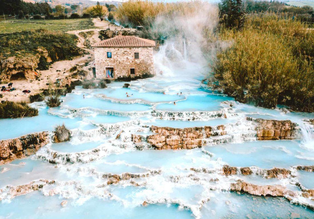 Saturnia Hot Springs Italy