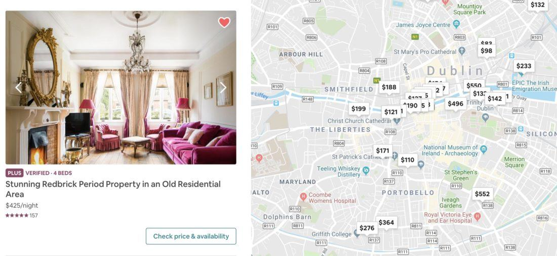 The best Airbnbs in Dublin