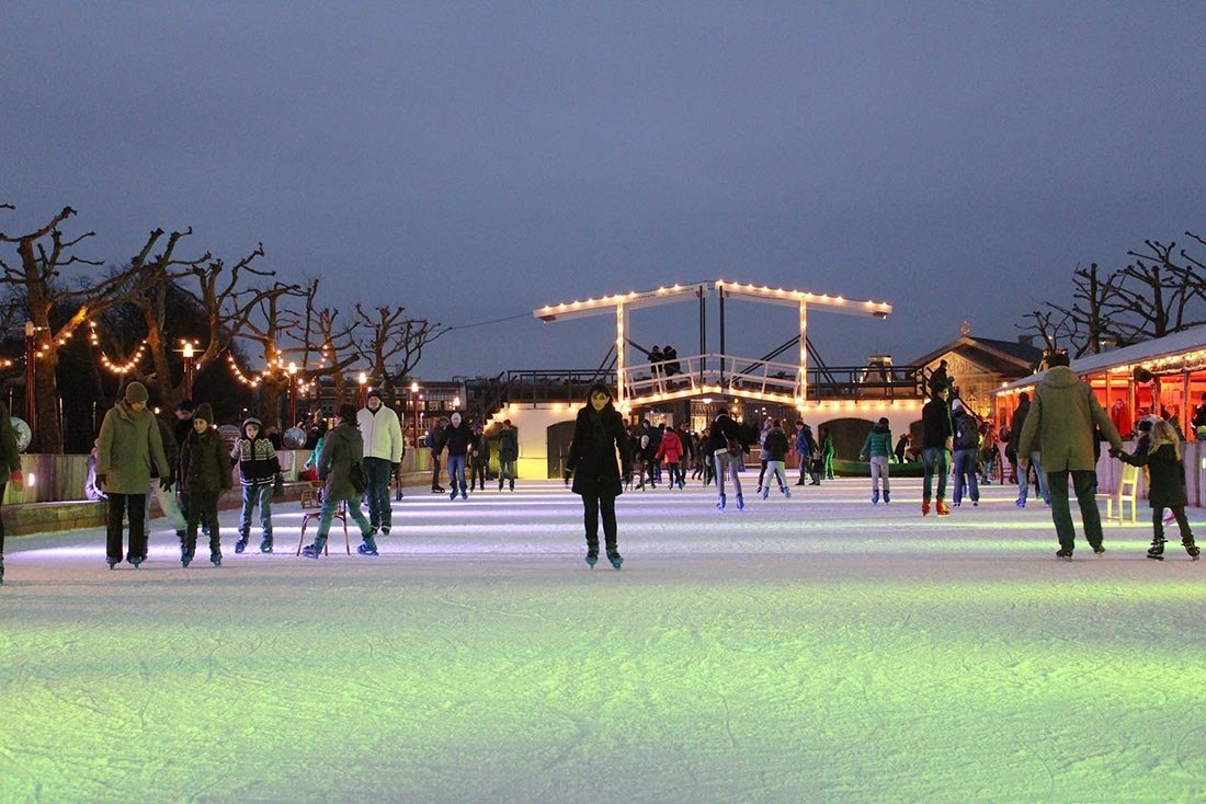 Christmas in Europe Amsterdam Netherlands
