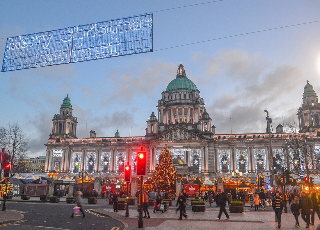 Christmas in Europe Belfast Ireland