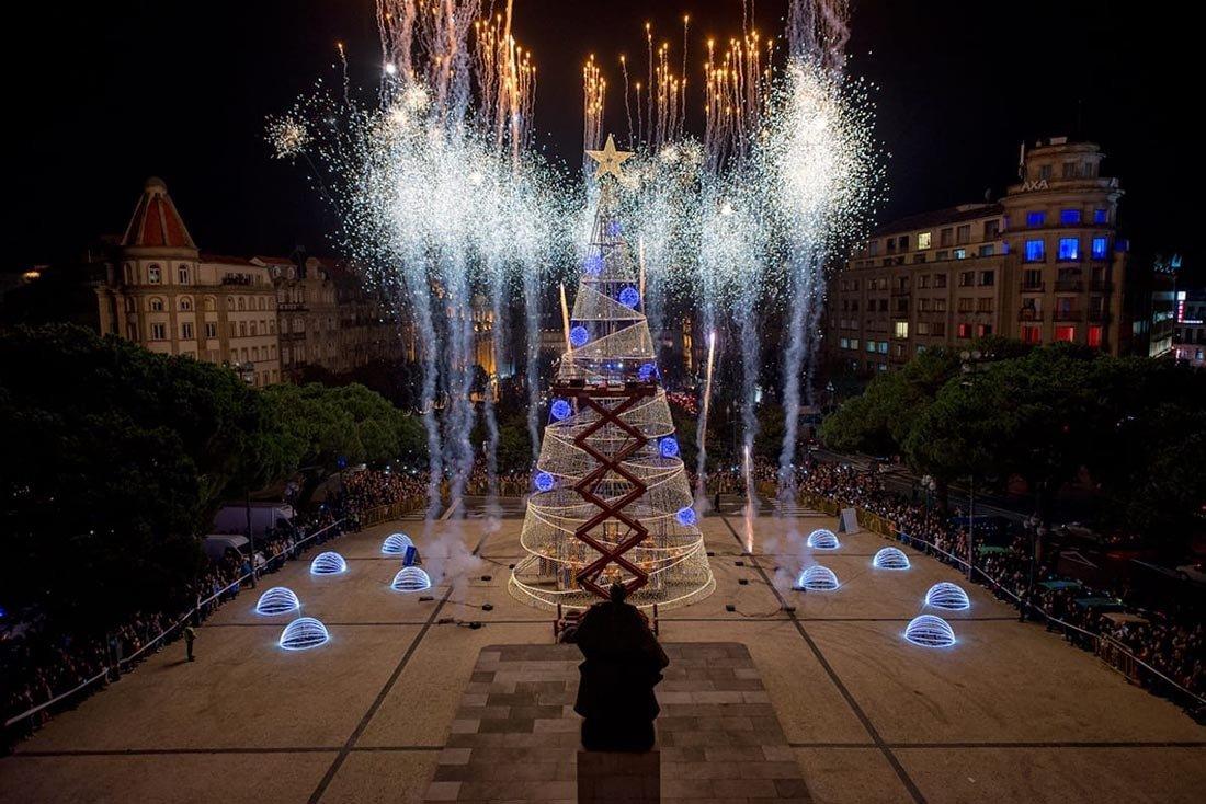 Christmas in Europe Porto Portugal