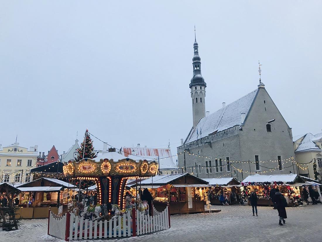 Christmas in Europe Tallin Estonia