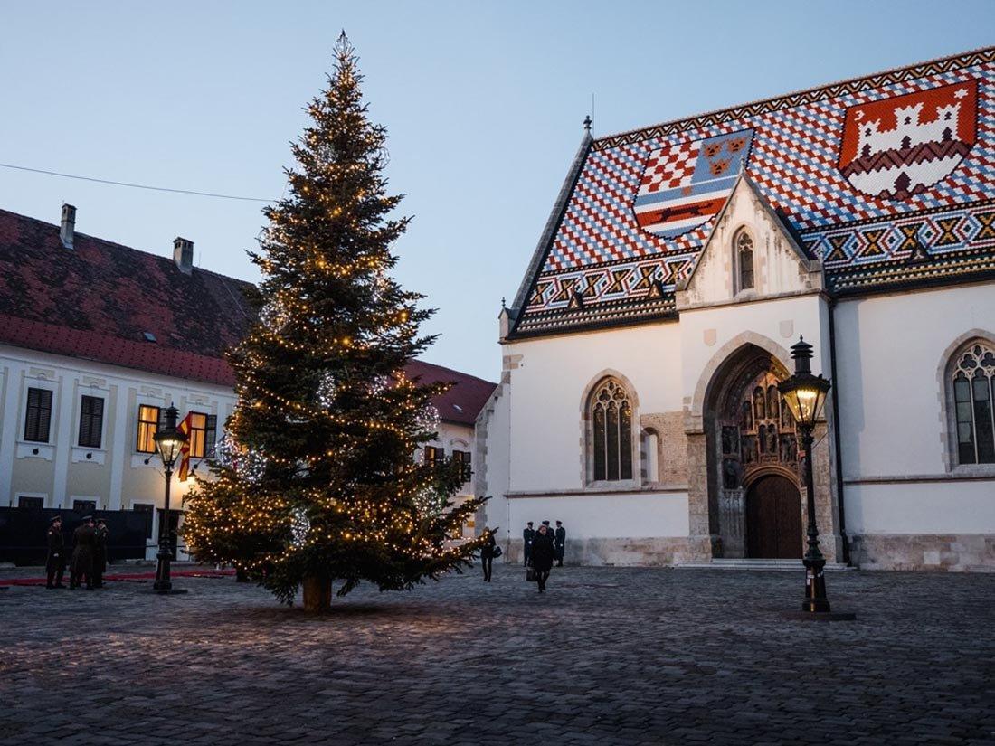 Christmas in Europe Zagreb Croatia