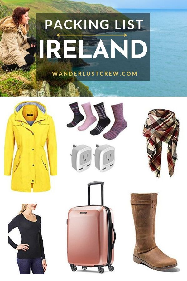 Ireland Packing List