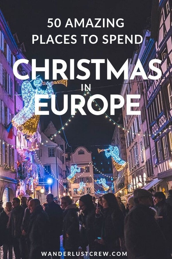 If you're spending Christmas in Europe these are 50 of the best winter destinations in Europe.