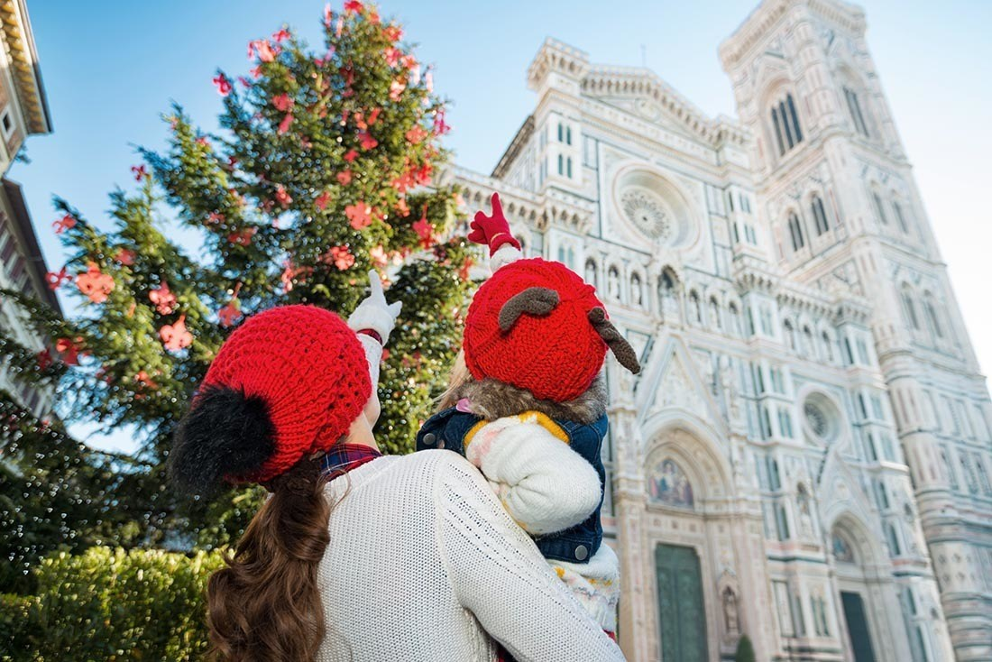 Europe in Christmas Florence Italy