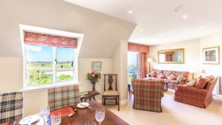 Swilken View has panoramic views of the Old Course - Houses for Rent in Fife, Scotland, United Kingdom