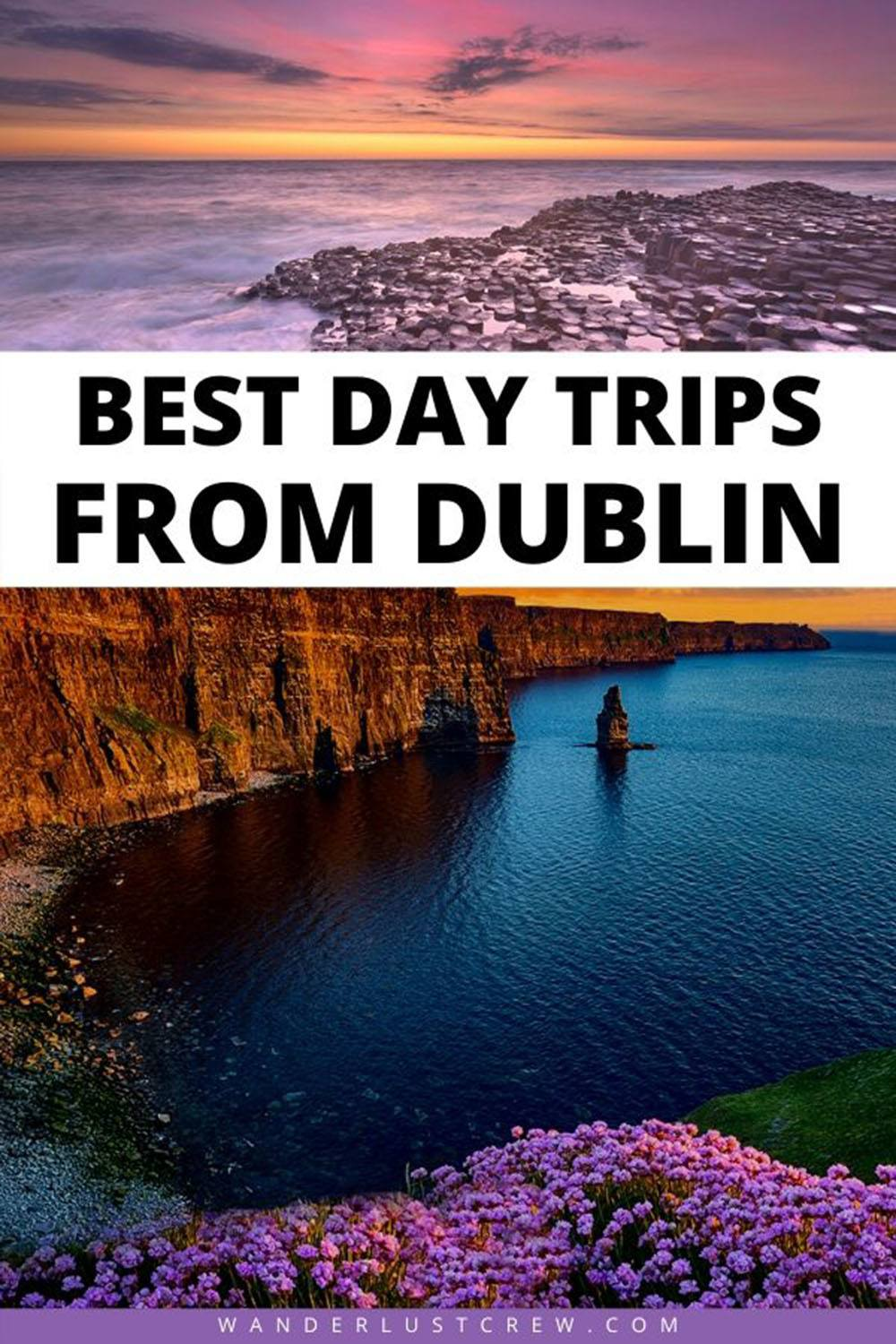 If you plan to base yourself in Dublin for your Ireland vacation, you'll want to venture out a bit. These are my favorite day trips from Dublin.