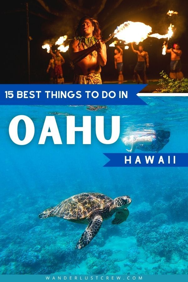 If you're coming to Oahu and want to experience the island beyond the beach, these 15 activities will help you make your vacation unforgettable.