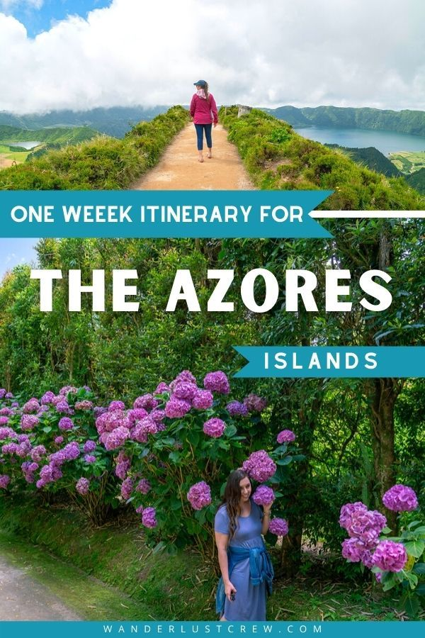 The Azores islands in Portugal are a true paradise. This Azores itinerary will take you to three unique islands and help you discover the best activities, food, and cultural experiences on each island.